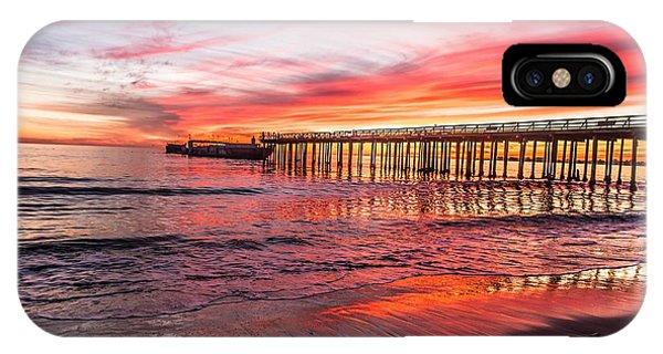 Seacliff Sunset IPhone Case
