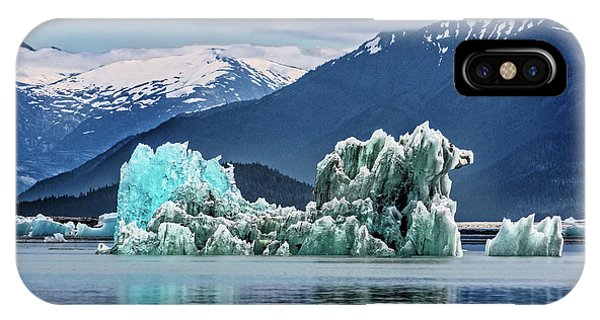 An Iceberg In The Inside Passage Of Alaska IPhone Case
