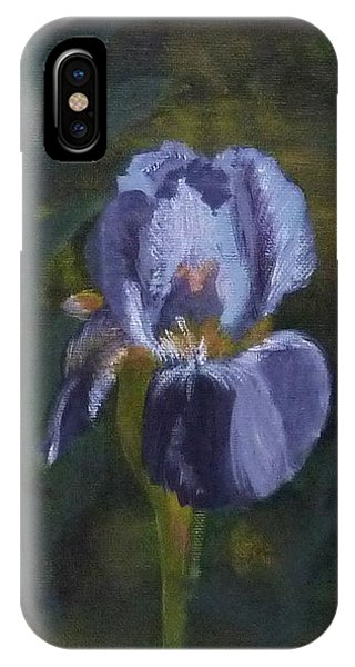 An Iris In My Garden IPhone Case