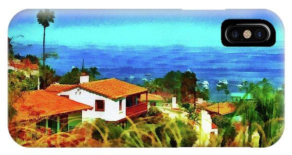 An Ocean View IPhone Case