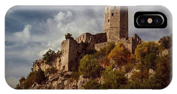 Mostar iPhone Case - An Old Abandoned Castle by Jaroslaw Blaminsky