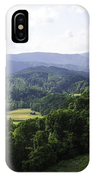 An Old Shack Hidden Away In The Blue Ridge Mountains IPhone Case
