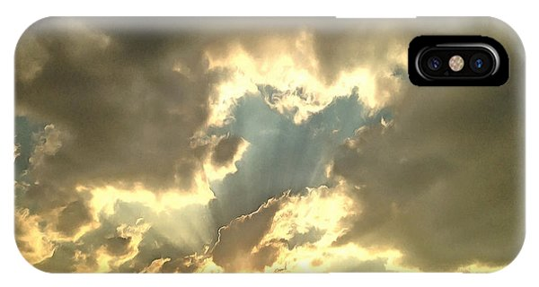 Divine Love iPhone Case - Vision Of Love by Krissy Katsimbras