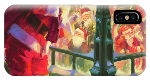 Cold iPhone Case - An Unforeseen Encounter by Steve Henderson