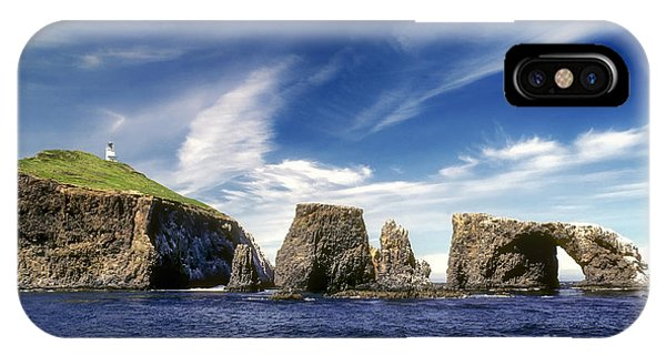 Channel Islands National Park - Anacapa Island IPhone Case