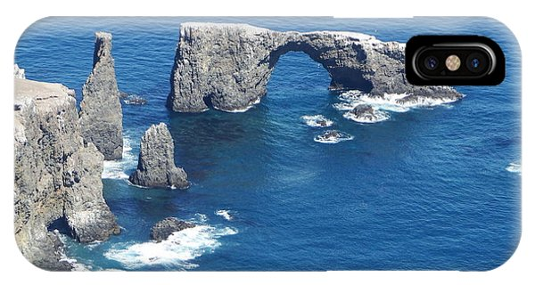 Anacapa Island Arch Rock IPhone Case