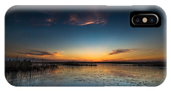 Anahuac Sundown IPhone Case