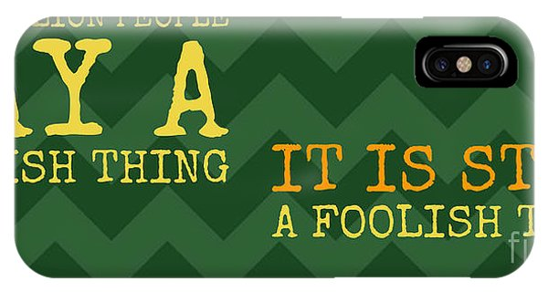 French iPhone Case - Anatole France - It Is Still by Drawspots Illustrations