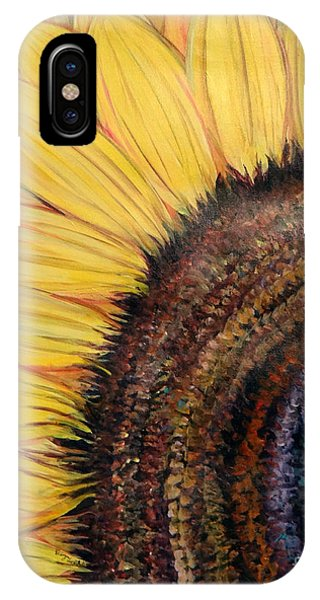 Anatomy Of A Sunflower IPhone Case