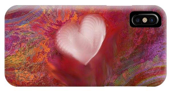 Anatomy Of Heart IPhone Case