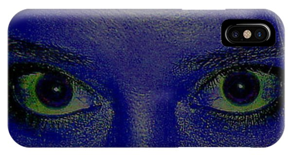 Anatomy Of The Eyes Phone Case by Debbie May