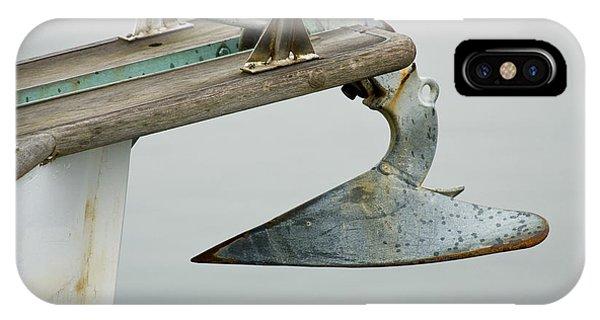 Sailboat Anchor IPhone Case