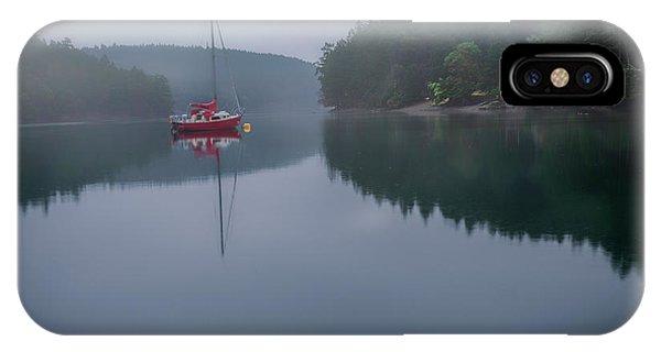 Anchored At Horton Bay IPhone Case