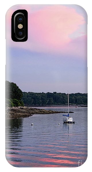 Anchored At Peaks Island, Maine  -07828 IPhone Case