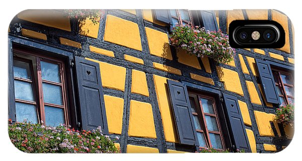 Ancient Alsace Auberge IPhone Case