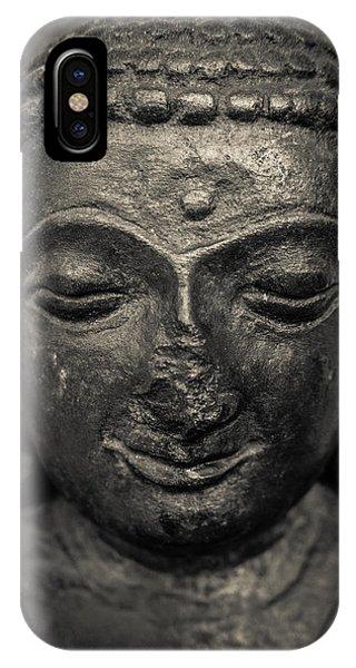 Ancient Buddha Statue IPhone Case