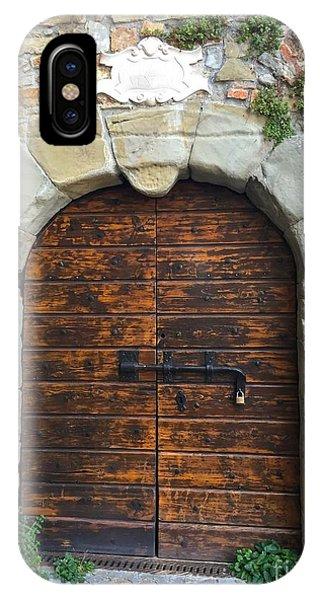Ancient Castle Castel Door Trieste IPhone Case