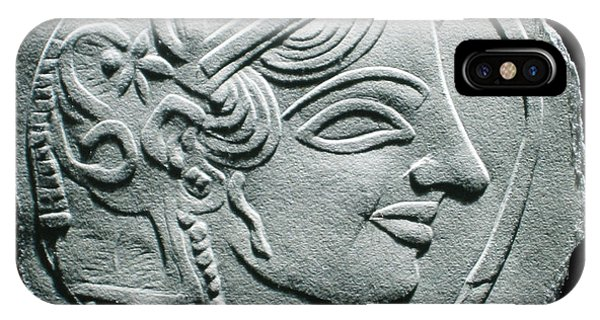 Ancient Greek Relief Seal Drawing IPhone Case