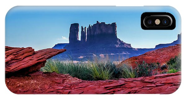 Teton iPhone Case - Ancient Monoliths by Az Jackson