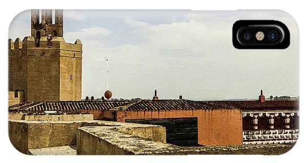 Ancient Moorish Citadel In Badajoz, Spain IPhone Case
