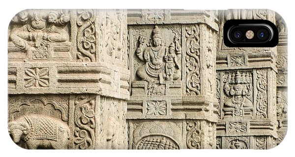 Ancient Temple Carvings IPhone Case