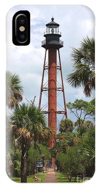 Anclote Key Lighthouse IPhone Case