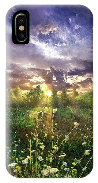 And In The Naked Light I Saw IPhone Case