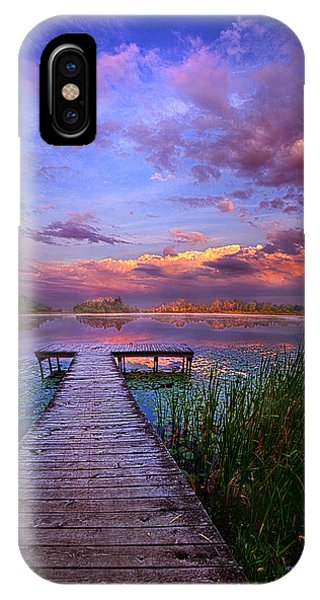 And Silence IPhone Case