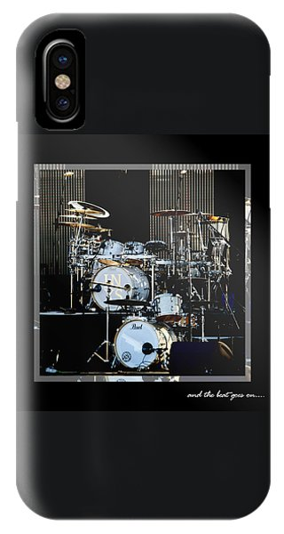 Drum iPhone Case - And The Beat Goes On.... by Holly Kempe