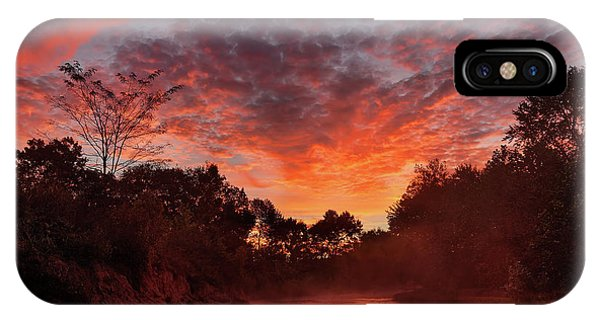 And The Day Begins IPhone Case