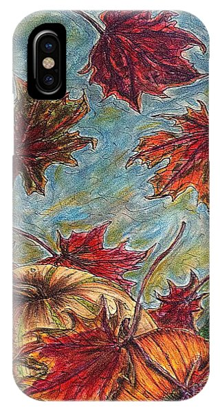 And The Leaves Came Tumbling Down IPhone Case