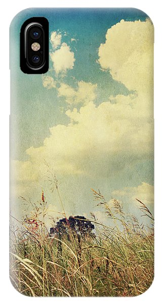 Cloud iPhone Case - And The Livin's Easy by Laurie Search