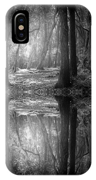 And There Is Light In This Dark Forest IPhone Case