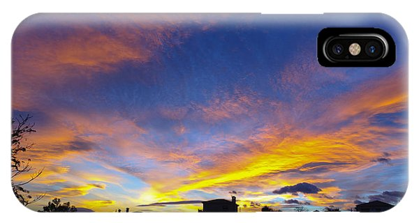 Andalusian Sunset IPhone Case