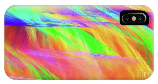 IPhone Case featuring the digital art Andee Design Abstract 11 2018 by Andee Design