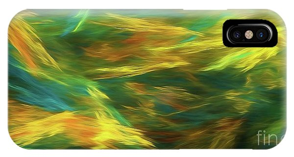 IPhone Case featuring the digital art Andee Design Abstract 16 D 2018 by Andee Design