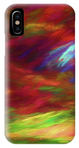 IPhone Case featuring the digital art Andee Design Abstract 18 2018 by Andee Design