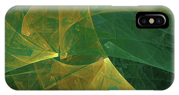 IPhone Case featuring the digital art Andee Design Abstract 19 2018 by Andee Design