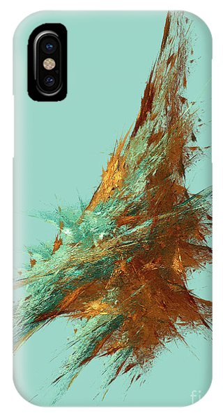 IPhone Case featuring the digital art Andee Design Abstract 22 2018 by Andee Design