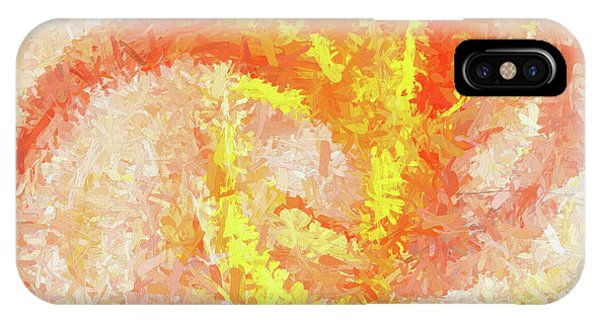 IPhone Case featuring the digital art Andee Design Abstract 4 2018 by Andee Design