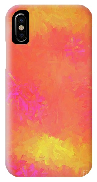 IPhone Case featuring the digital art Andee Design Abstract 5 2018 by Andee Design