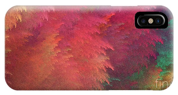 IPhone Case featuring the digital art Andee Design Abstract 6 2018 by Andee Design