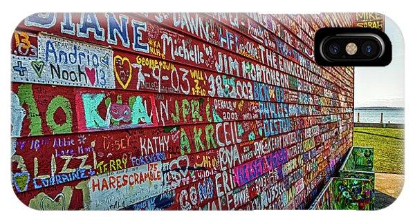Anderson Warehouse Graffiti  IPhone Case
