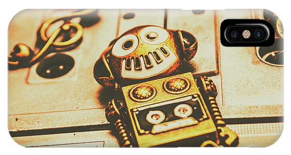 Robot iPhone Case - Android Rave by Jorgo Photography - Wall Art Gallery