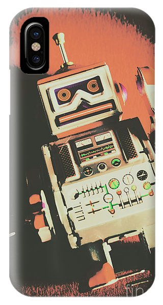 Robot iPhone Case - Android Short Circuit  by Jorgo Photography - Wall Art Gallery