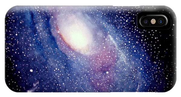 Andromeda Galaxy IPhone Case