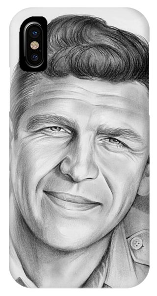 Airy iPhone Case - Andy Griffith by Greg Joens