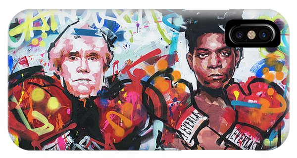 Andy Warhol And Jean-michel Basquiat IPhone Case