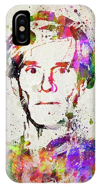 Andrew iPhone Case - Andy Warhol In Color by Aged Pixel