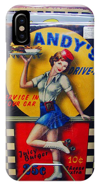 Andy's Drive In IPhone Case